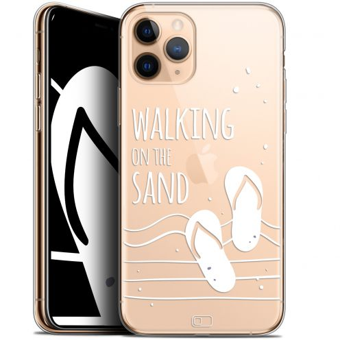 "Coque Gel Apple iPhone 11 Pro (5.8"") Extra Fine Summer - Walking on the Sand"