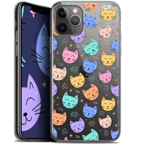 "Coque Gel Apple iPhone 11 Pro (5.8"") Extra Fine Motif - Chat Dormant"