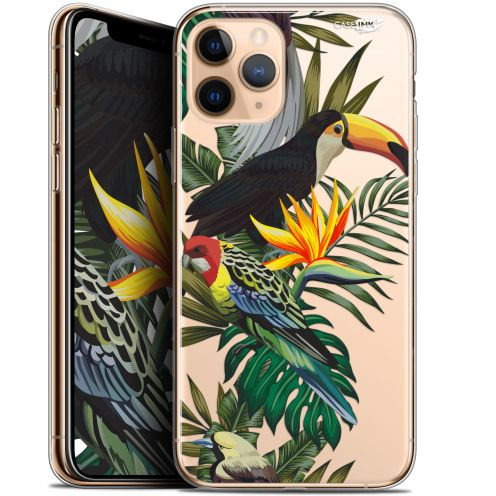 "Coque Gel Apple iPhone 11 Pro (5.8"") Extra Fine Motif - Toucan Tropical"
