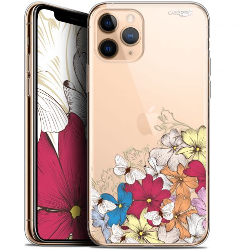 "Coque Gel Apple iPhone 11 Pro (5.8"") Extra Fine Motif - Nuage Floral"