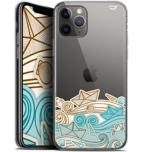 "Coque Gel Apple iPhone 11 Pro (5.8"") Extra Fine Motif - Bateau de Papier"