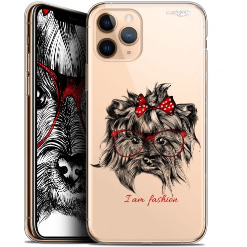 "Coque Gel Apple iPhone 11 Pro (5.8"") Extra Fine Motif - Fashion Dog"