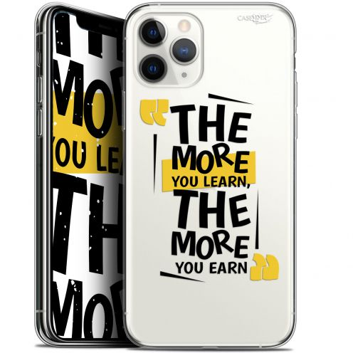 "Coque Gel Apple iPhone 11 Pro (5.8"") Extra Fine Motif - The More You Learn"