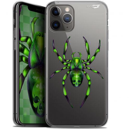 """Coque Gel Apple iPhone 11 Pro (5.8"""") Extra Fine Motif - Arraignée Verte"""