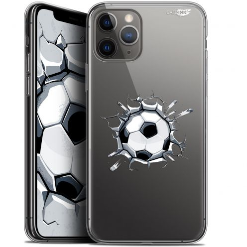 "Coque Gel Apple iPhone 11 Pro (5.8"") Extra Fine Motif - Le Balon de Foot"
