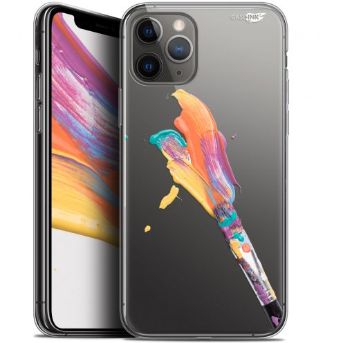 "Coque Gel Apple iPhone 11 Pro (5.8"") Extra Fine Motif - Pinceau de Peinture"