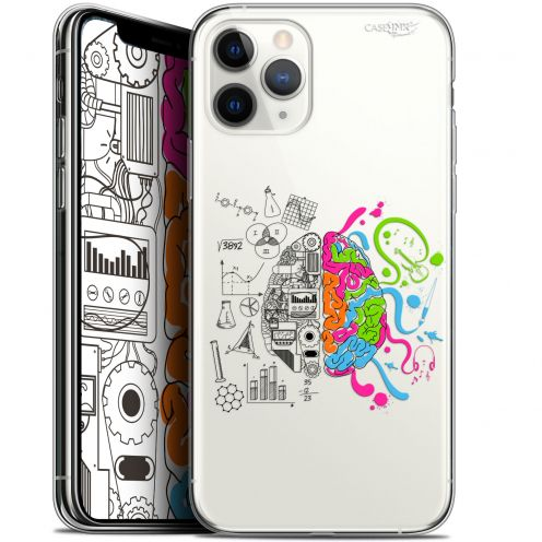 "Coque Gel Apple iPhone 11 Pro (5.8"") Extra Fine Motif - Le Cerveau"