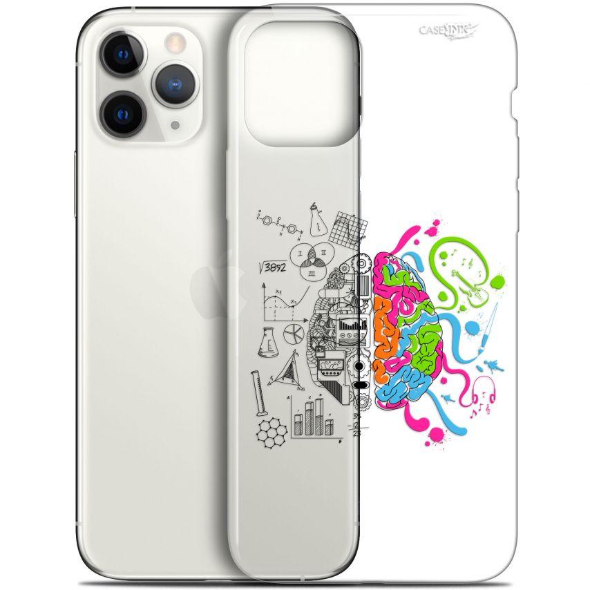 """Coque Gel Apple iPhone 11 Pro (5.8"""") Extra Fine Motif - Le Cerveau"""