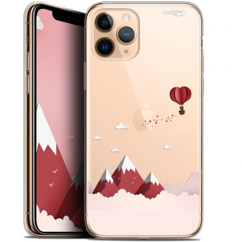 "Coque Gel Apple iPhone 11 Pro (5.8"") Extra Fine Motif - Montagne En Montgolfière"