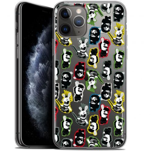 "Coque Gel Apple iPhone 11 Pro (5.8"") Extra Fine Lapins Crétins™ - Punk Pattern"