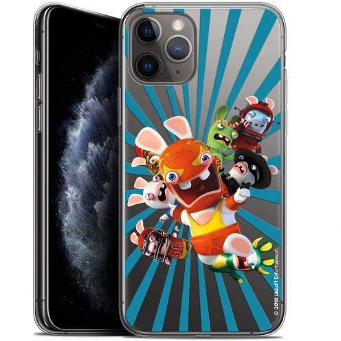 "Coque Gel Apple iPhone 11 Pro (5.8"") Extra Fine Lapins Crétins™ - Super Heros"
