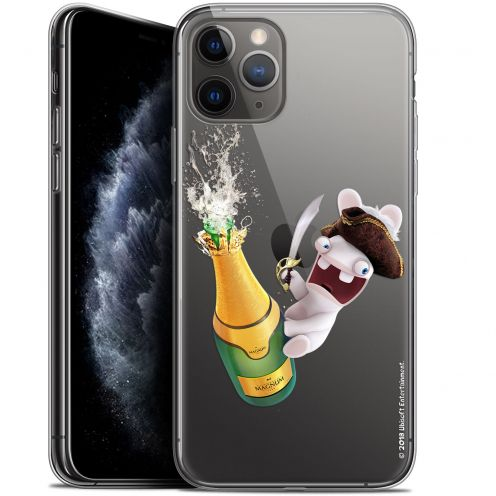 """Coque Gel Apple iPhone 11 Pro (5.8"""") Extra Fine Lapins Crétins™ - Champagne !"""
