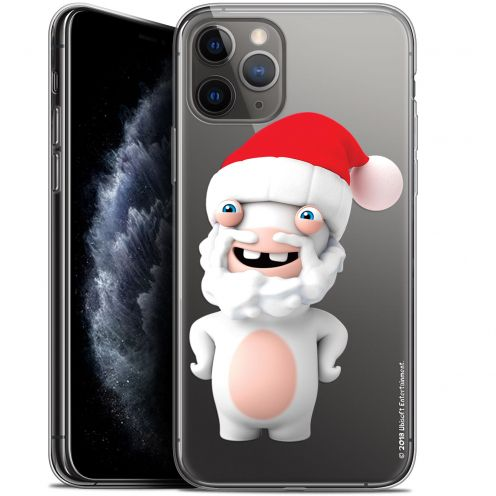 """Coque Gel Apple iPhone 11 Pro (5.8"""") Extra Fine Lapins Crétins™ - Lapin Noël"""