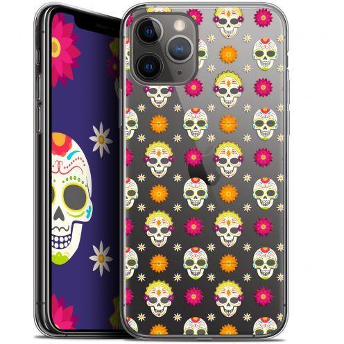 """Coque Gel Apple iPhone 11 Pro Max (6.5"""") Extra Fine Halloween - Skull Halloween"""