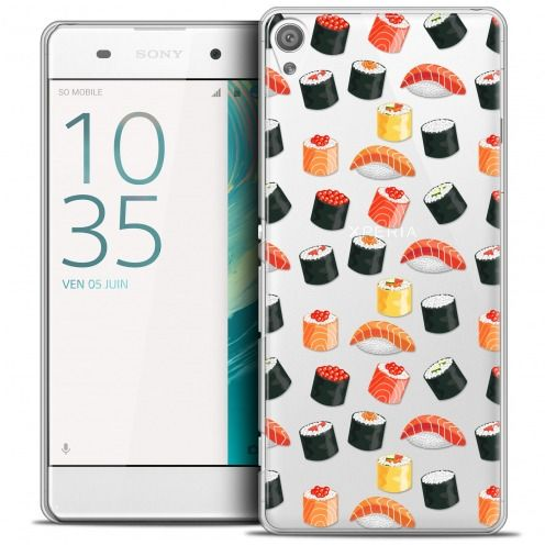 Coque Crystal Xperia XA Extra Fine Foodie - Sushi