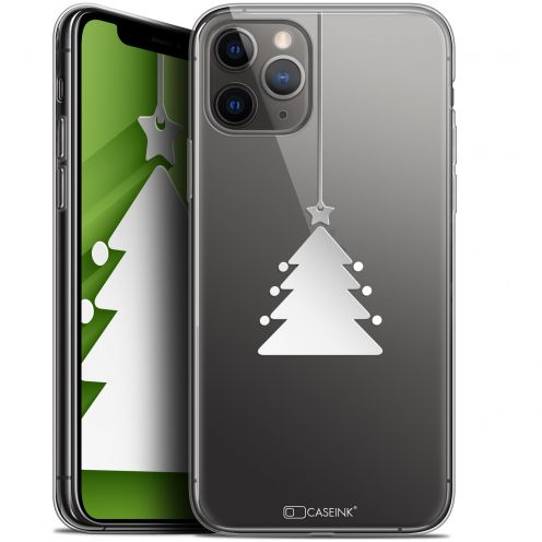 "Coque Gel Apple iPhone 11 Pro Max (6.5"") Extra Fine Noël 2017 - Petit Arbre"