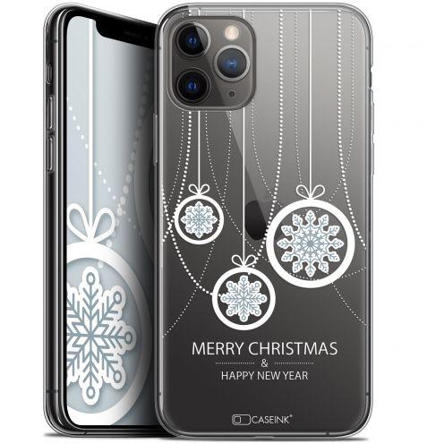 "Coque Gel Apple iPhone 11 Pro Max (6.5"") Extra Fine Noël 2017 - Christmas Balls"