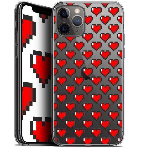 "Coque Gel Apple iPhone 11 Pro Max (6.5"") Extra Fine Love - Pixel Art"