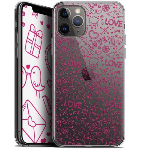 "Coque Gel Apple iPhone 11 Pro Max (6.5"") Extra Fine Love - Doodle"
