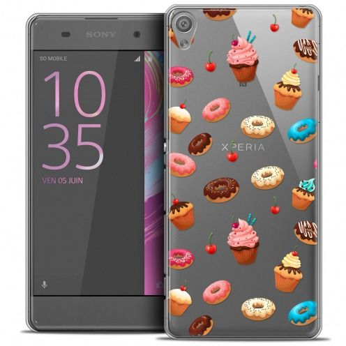 Coque Crystal Xperia XA Extra Fine Foodie - Donuts