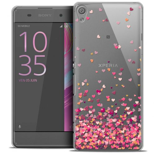 Coque Crystal Xperia XA Extra Fine Sweetie - Heart Flakes