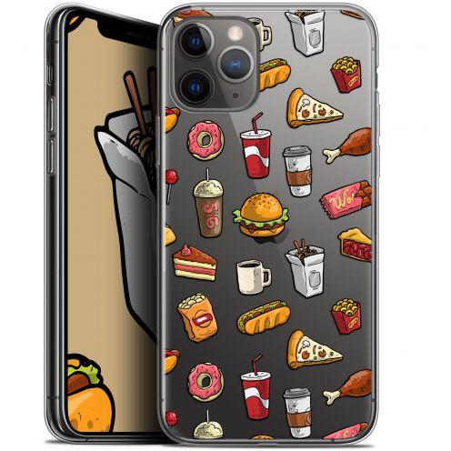 """Coque Gel Apple iPhone 11 Pro Max (6.5"""") Extra Fine Foodie - Fast Food"""
