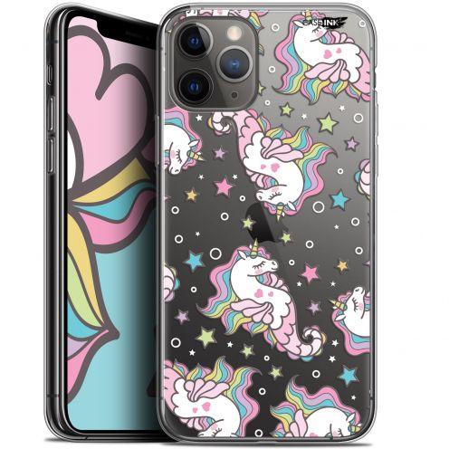 "Coque Gel Apple iPhone 11 Pro Max (6.5"") Extra Fine Motif - Licorne Dormante"
