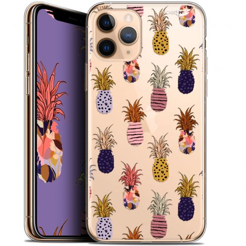 """Coque Gel Apple iPhone 11 Pro Max (6.5"""") Extra Fine Motif - Ananas Gold"""