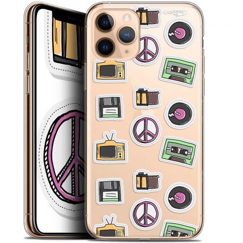 "Coque Gel Apple iPhone 11 Pro Max (6.5"") Extra Fine Motif - Vintage Stickers"