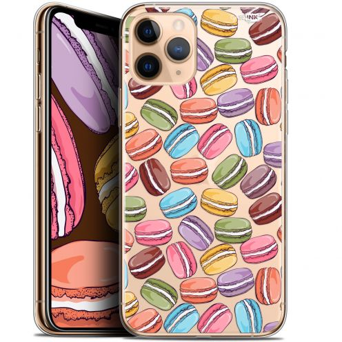 "Coque Gel Apple iPhone 11 Pro Max (6.5"") Extra Fine Motif - Macarons"