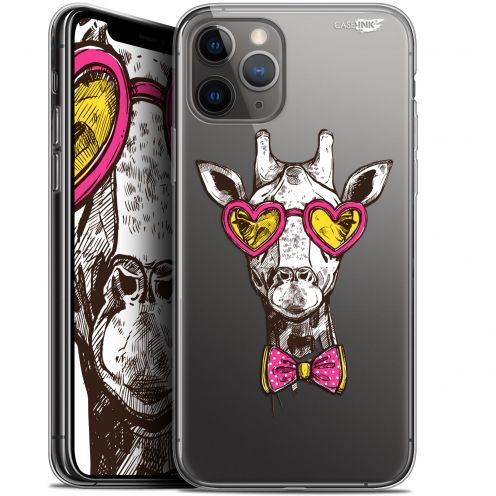 "Coque Gel Apple iPhone 11 Pro Max (6.5"") Extra Fine Motif - Hipster Giraffe"