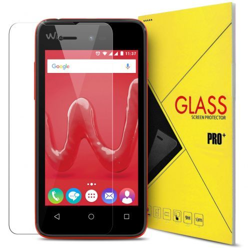 Protection d'écran Verre trempé Wiko Sunny - 9H Glass Pro+ HD 0.33 mm 2.5D