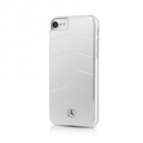 Coque Mercedes MEHCP7CUSALSI iPhone 7 Argent