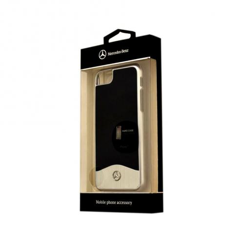 Coque Mercedes MEHCP7CUALBK iPhone 7 Noir