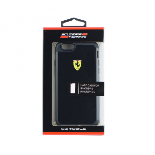 "Coque Ferrari FESPHCP6BK Anti-Shock iPhone 6 4""7 Noir"