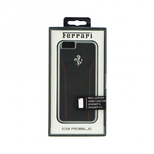 "Coque Ferrari 488 FESEHCP6BKR iPhone 6 4""7 Noir"