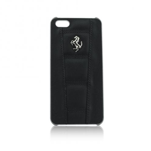 Coque Ferrari F12 FE458HCP5BL iPhone 5/5S/5SE Noir