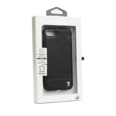 Coque BMW BMHCI8PEBOBK iPhone 7/8 Noir