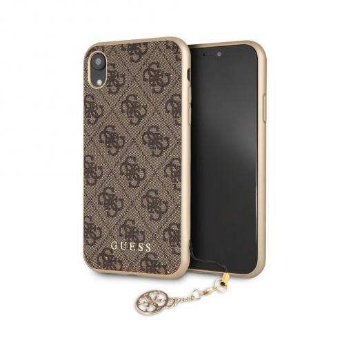 Coque GUESS® GUHCI61GF4GBR iPhone XR Marron