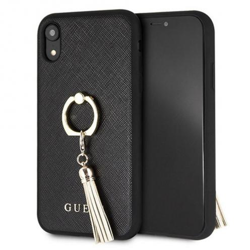 Coque GUESS® GUHCI61RSSABK iPhone XR Noir