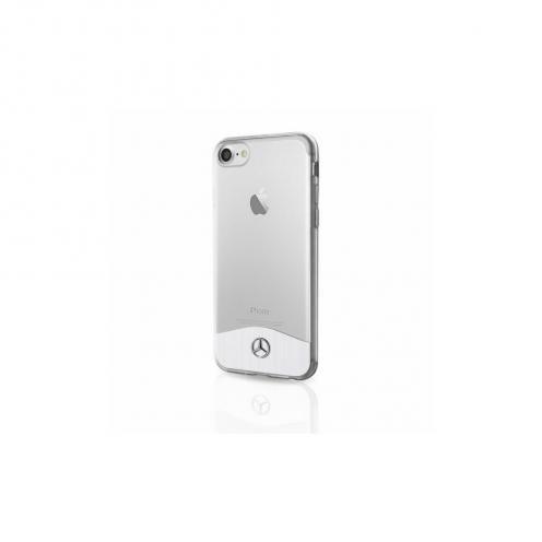 Coque Mercedes MEHCI8TRBRSI iPhone 7/8 Argent