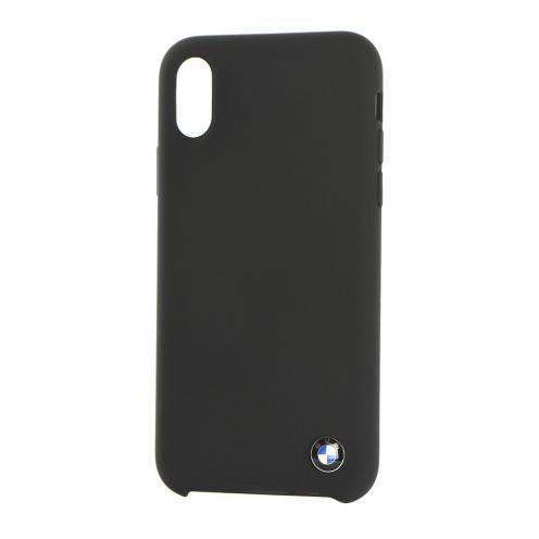 Coque BMW BMHCI61SILBK iPhone Xr Noir