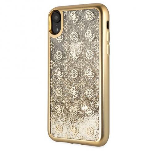 Coque GUESS® GUHCI61PEOLGGO iPhone XR Or