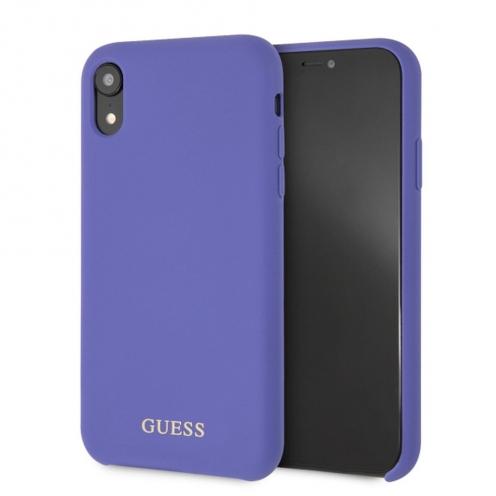 Coque GUESS® GUHCI61LSGLUV iPhone XR violet