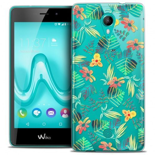 Coque Crystal Gel Wiko Tommy Extra Fine Spring - Tropical