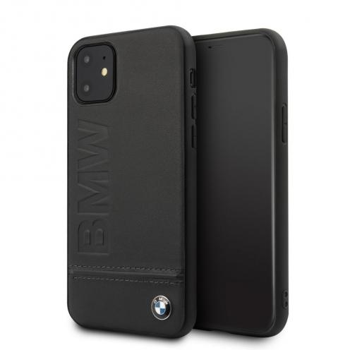 Coque BMW BMHCN61LLSB iPhone 11 Noir