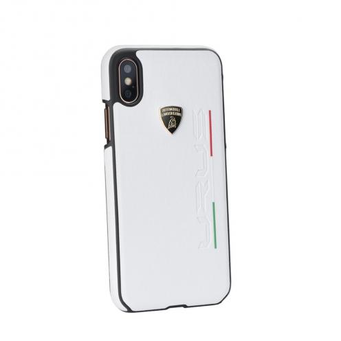 Coque Originale Lamborghini URUS-D2 LB-HCIP8-UR/D2-WE iPhone 7/8 Blanc