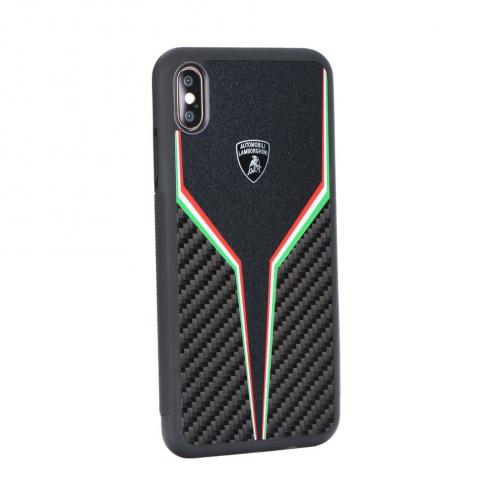 Coque Originale Lamborghini SC D2 LB-TPUPCIPXR-SC/D2-BK iPhone Xr Noir