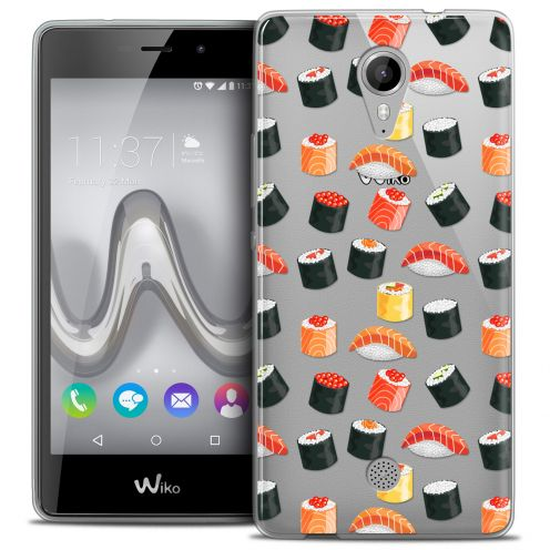 Coque Crystal Gel Wiko Tommy Extra Fine Foodie - Sushi