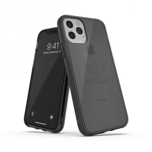 Coque ADIDAS Originals Clear Big Logo pour iPhone 11 PRO ( 5.8) smokey Noir